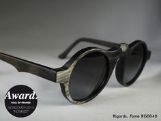 Designer: Ti Kwa Model: RG0048 in Black / Sanjuro Since: 2012 Web: www.rigards.com
