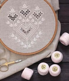 Hardanger Embroidery, Hand Embroidery Stitches, Lace Embroidery, Drawn Thread, Irish Lace, Lace Making, Bargello, Stitch Patterns, Needlework