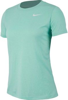 Nike Women's Dry Heatherized Legend T-Shirt, Size: Small, Green Royal Colors, Nikes Girl, Nike Outfits, Nike Women, Mens Tops, T Shirt, Shopping, Nike Clothes, Gender Female