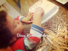 Alfabetização na Educação Infantil Silabário Sílabas Simples Ensino Coordenação Motora Domiciliar