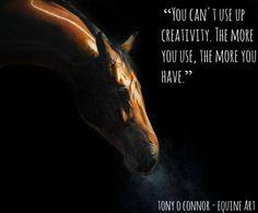 Tony O'Connor Equine Art whitetreestudio.ie #creativity