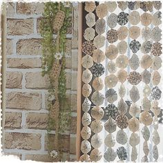4LDKで、家族の、キッチン/ヨーヨーキルト/花かんざし/編み編み/麻紐/花かんざしドライについてのインテリア実例。 「おはようございます。...」 (2016-04-21 08:19:40に共有されました) Door Beads, Window Treatments, Creations, Curtains, Quilts, Handmade, Knitting, Room, Home Decor