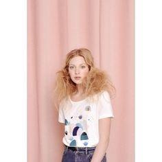 tee shirt jacotte ecru @ DES PETITS HAUTS Mode Shop, Tee Shirts, Tees, Munich, Pretty, Shopping, Style, Fashion, Fall Winter