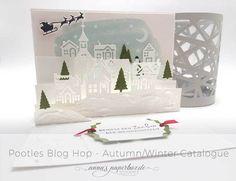 Pootles New Catalogue Blog Hop - Weihnachten daheim - anna's paperbox