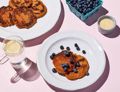 Thanks to its natural sweetness, roasted sweet potato pairs incredibly well with coconut yogurt and antioxidant-packed blueberries. These easy-to-make silver dollar pancakes cook quickly and reheat well, so we recommend making a double batch and freezing any leftovers.