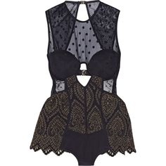 Zimmermann Riot cutout mesh-paneled swimsuit ($750) ❤ liked on Polyvore featuring swimwear, one-piece swimsuits, lingerie, dresses, swimsuits, purple, underwire bras, one piece cutout swimsuit, mesh one piece swimsuit and purple swimsuit