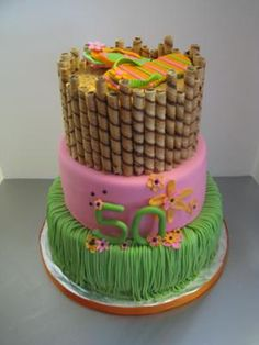 Luau Cake Ideas