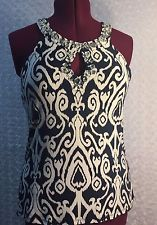 International Concepts Women's Large Blouse Top Sleeveless Polyester Career