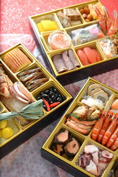 New Year Osechi food