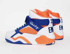 #Ewing Focus White Orange Blue