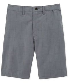 Hurley Hatchet Plaid Chino Shorts
