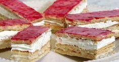 Klassisk napoleonbakelse är ett klassiskt val på kondis, men du kan även baka den själv! Johan Sörberg visar steg för steg hur du gör. Baking Recipes, Cake Recipes, Dessert Recipes, Bagan, Napoleon Pastry, Swedish Cuisine, European Cuisine, German Desserts, Individual Cakes