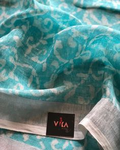 Tulsi Silks, New Saree Blouse Designs, Cotton Sarees Online, Designer Sarees Online, Online Clothing Stores, Saree Collection, Blue Fabric, Stripe Print, Cotton Linen