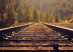 Tracks, near Truckee, CA  Reminds me of my childhood. <3