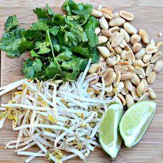 Pad Thai Toppings