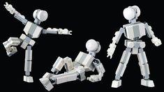 Small Poseable Figure - LEGO MOC Tutorial