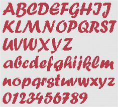 alfabeto punto croce - Cerca con Google