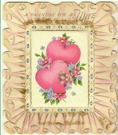 Valentijnskaarten maken, geschiedenis van valentijn , oude valentijnskaarten I Love My Wife, Old Postcards, Frame, Home Decor, Picture Frame, Decoration Home, Love My Wife, Room Decor, Frames