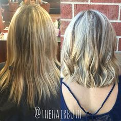 BEFORE & AFTER: highlight , lowlight foil & a fresh cut 👌🏽💛 #nofilter #spalon #spalonmontage #salon #hayleyatspalon #thehairbuth #cosmetology #cosmetologist #hair #haircut #haircolor #color #woodburyhair #job #career #askforhayley #loreal #lorealpro #cut #hairstylist #minnesotahair #twincities #licensedtocreate #naturallight