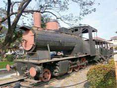 Tarlac City, a city had railway