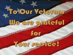 To all those that are serving or have served. Thank you.