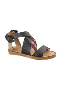 Hush Puppies Regards Sandals In Black Leather love the wrap sandal kind of look. Great for walking, art shows, museums, new cities, boardwalks.