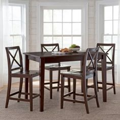 Dining Possibilities 5 Pc. Counter Height Rectangular Dining Set Found At  @JCPenney