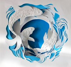 Deep Blue on Behance- Marina Adamova