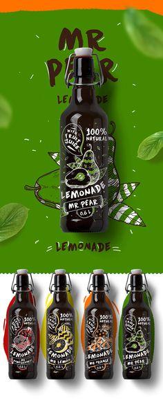 Создание упаковки для газированных напитков on Behance