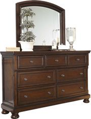 Signature Design by Ashley Porter Rustic Brown Dresser | House ...