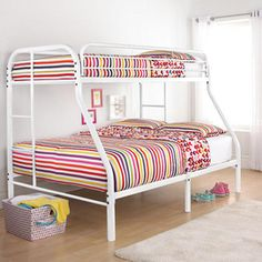 Twin/full Metal Bunk Bed Frame