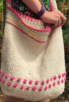 How To Crochet A Summer Bag