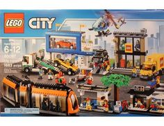 The Lego City Square - a great selection of Lego construction sets at Wonderland Models.  One of our favourite sets in the Lego City Town range is the City Square.