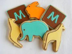 Bake at 350: Modern baby monograms
