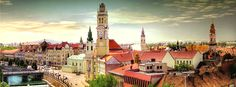Oradea, Romania - cultural hub in the North-West Romania. Credits Flickr/ Vincent Rowell