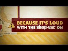 Mooie typografische muziekvideo 'Shop Vac' van Jonathan Coulton.