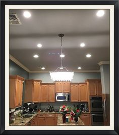 Az recessed lighting installation of 4 inch leds in kitchen az az recessed lighting installation kitchen led lights can lights pot lights remodel mozeypictures Gallery
