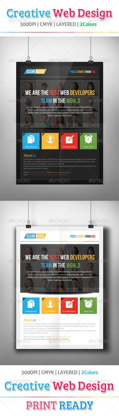 Creative Web Design Flyer Template  #GraphicRiver         A4 Size – Creative Web Design Flyer Template  	 Images links are included in the help file  	 Many thanks for purchasing my item from the envato marketplace.  	 Please don't forgot to rate.  	 //————————-—//  	 All designs in to design  	 //————————-—//  	 Creative Web Design Flyer Template Fully layered PSD 300 Dpi, CMYK Completely editable, print ready Text/Font or Color can be altered as needed All Image are in vector format, so…