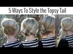 5 Updo Hairstyles