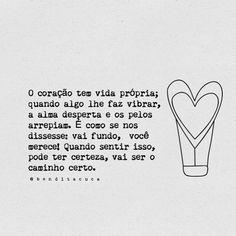 O coração tem vida própria