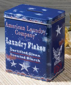 Look what I found on #zulily! Laundry Flakes Tip Bank #zulilyfinds