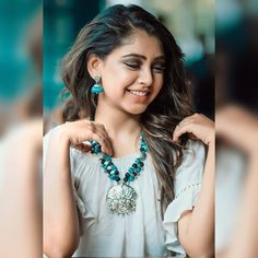 Don't let anyone ever dull your sparkle.💫 Enhance it with smile and Jewellery. Jewels by : Photo credits - Cute Celebrities, Celebs, Niti Taylor, Girl Photography Poses, Fashion Photography, Cute Beauty, Girls Dpz, Indian Designer Wear, Indian Girls