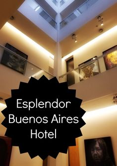 If you're looking for a hotel in Buenos Aires that combines elegance and tradition with a modern touch and a fantastic location, then Esplendor Hotel San Martin Street) is for you. Bolivia Travel, Colombia Travel, Brazil Travel, Argentina Travel, Peru Travel, Travel Tips, South America Destinations, South America Travel, Machu Picchu