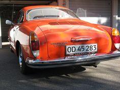 My orange Karmann Ghia