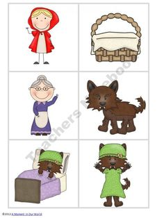 Little Red Riding Hood Pack From AMomentInOurWorld On TeachersNotebook 68 Pages