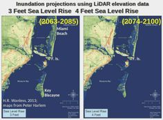 Rising sea levels will be too much, too fast for Florida