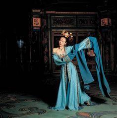 Zhang Ziyi..House of Flying Daggers...Crouching Tiger, Hidden Dragon...thank you....