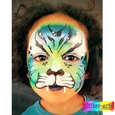 Fantasy tiger boys face painting by Glitter-Arty Face Painting, Bedford, Bedfordshire