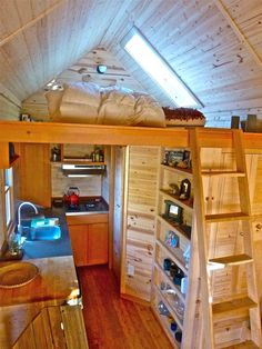 6 Extreme Tiny Homes -From containers to cabins, see how these homeowners live comfortably in 200-square-feet or less.