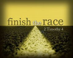 ... if we set upon the marathon of our life, intent to share, without distraction, the Gospel of Christ and keep our faith in the Lord, then when our race is run. Description from blcfchurch.blog.ca. I searched for this on bing.com/images